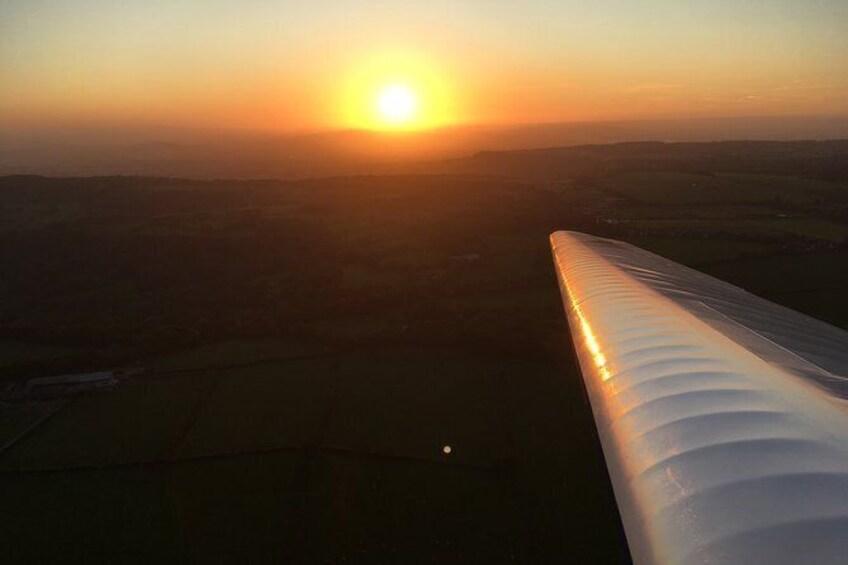 Show item 3 of 4. Beautiful evening flight