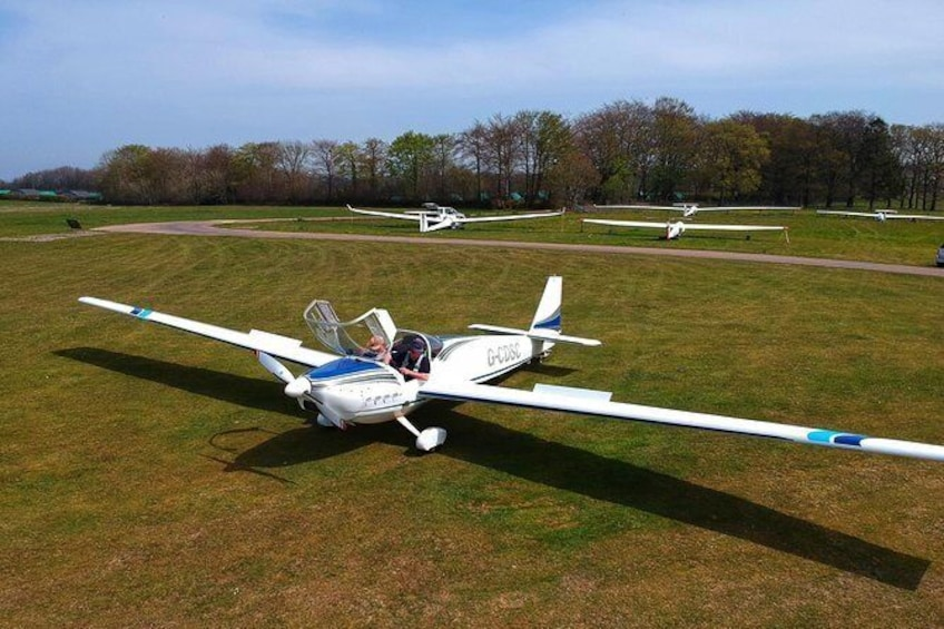Show item 4 of 4. Our Fabulous Motorglider