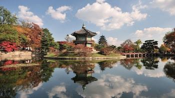 Full-Day Gyeongbokgung Palace, COEX Aquarium & Gangnam Tour