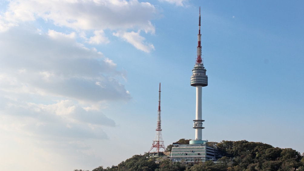 Show item 2 of 5. Day view of the Seoul N Tower