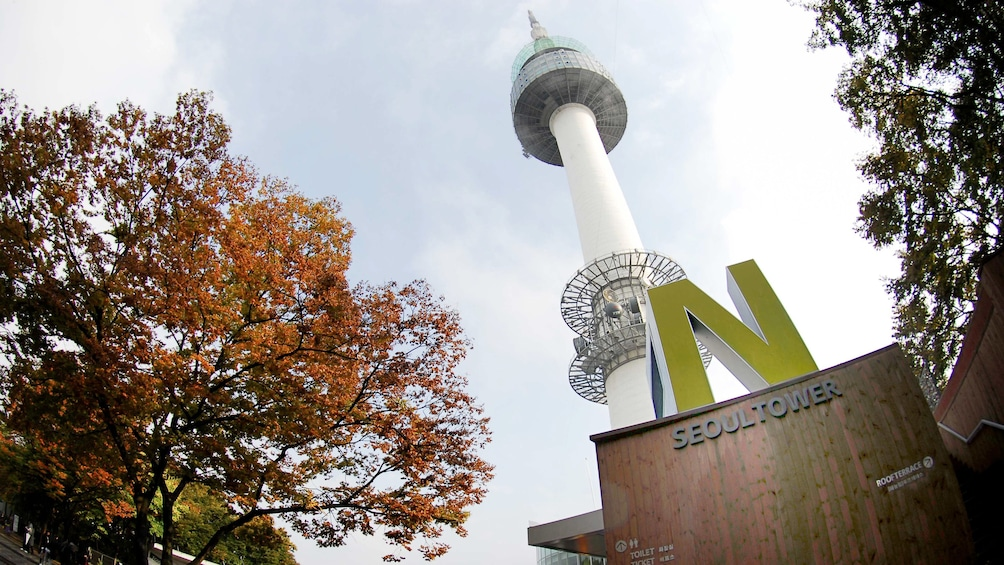 Show item 1 of 5. Close up day view of the Seoul N Tower