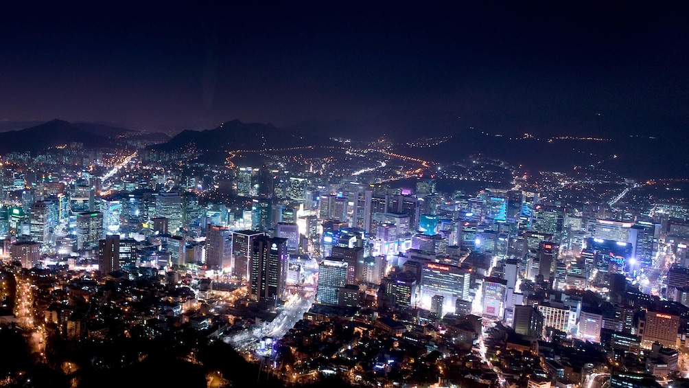 แสดงภาพที่ 3 จาก 5 Night view of the city from the Seoul N Tower