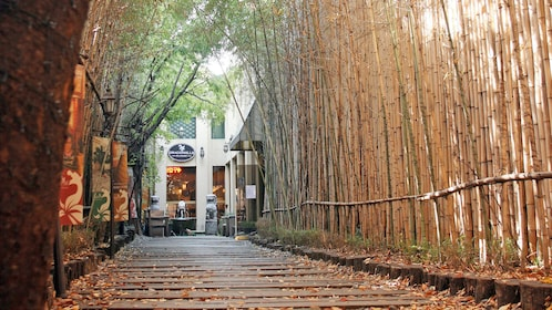 Entrance to the Dragon Hill Spa in Seoul