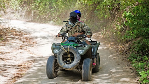 ATV rider in mexico