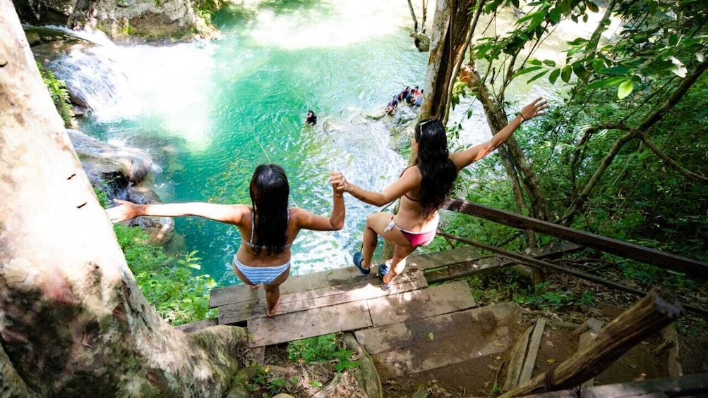 Llano Grande Waterfalls Tour