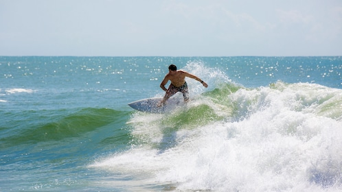 man surfing in mexico