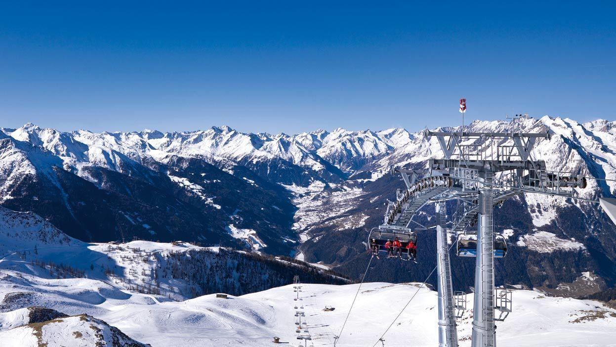 Ski lift in Munich