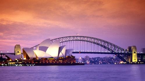 Sydney opera house and harbor