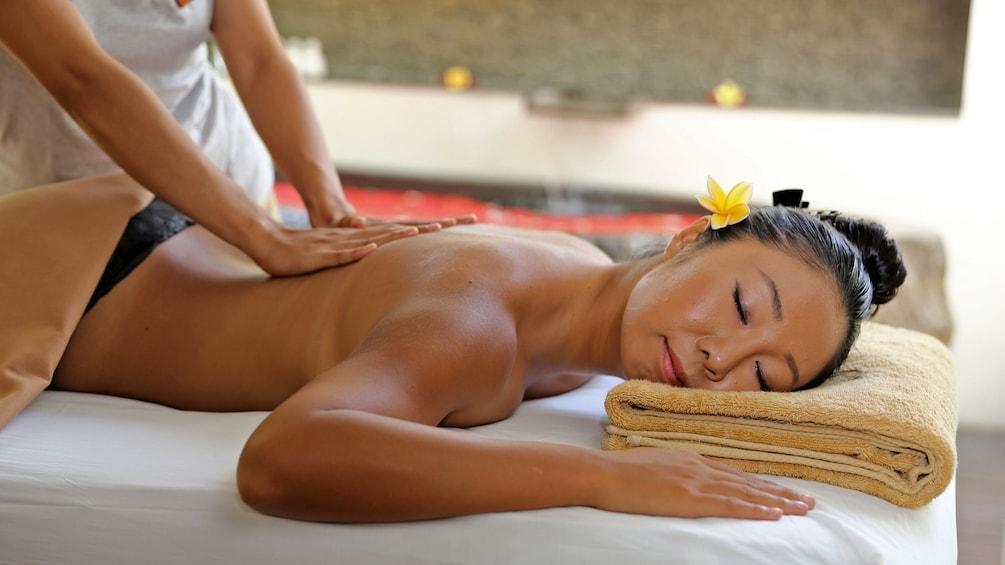 back massage in bali
