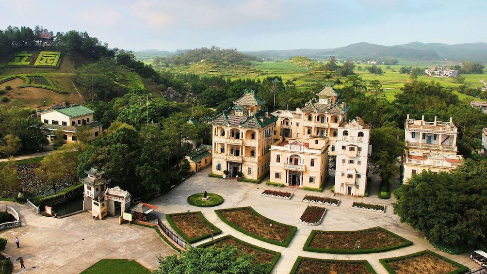 Show item 3 of 5. Kaiping Diaolou and surrounding village