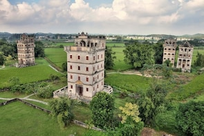 Kaiping UNESCO Watchtowers & Li Garden Tour from Guanzghou