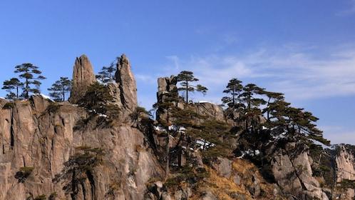 Mountain view in Huangshan, China