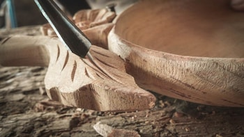 Fine Art of Woodcarving at Hoi An's Workshop