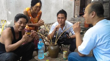 Lao Wine Making at Luang Prabang