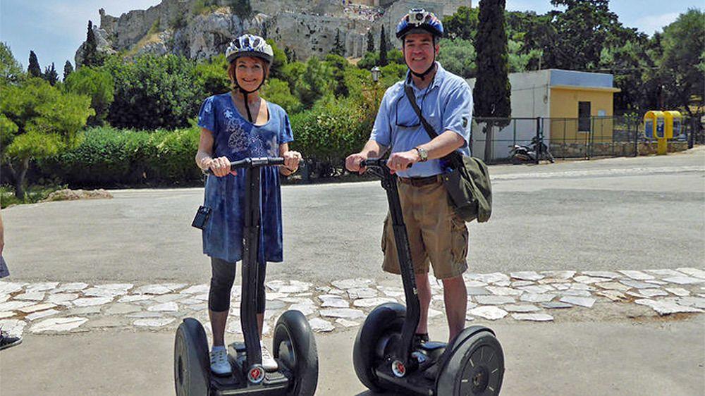 Shore Excursion: Athens & Acropolis Segway Tour