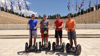 Escursione sulla costa: Atene antica e moderna in Segway