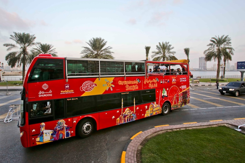 Show item 4 of 6. Sharjah Hop-On Hop-Off Bus Tour