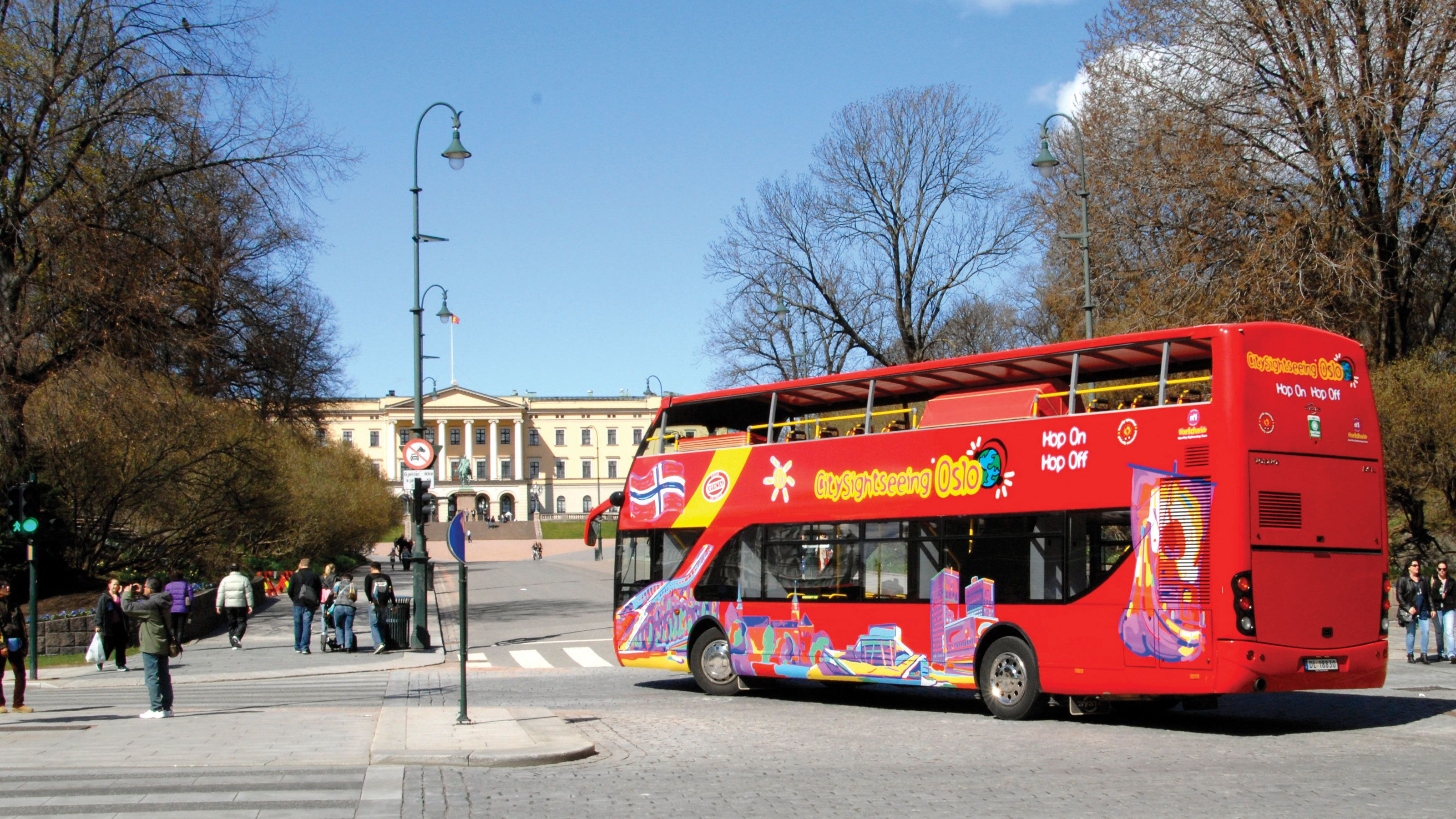 Sightseeingbusstur med hop-on/hop-off i Oslo