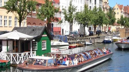 Aboard a boat in Copenhagen