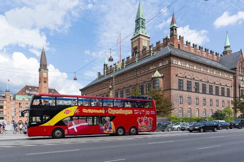 Copenhagen Hop-On Hop-Off Bus Tour