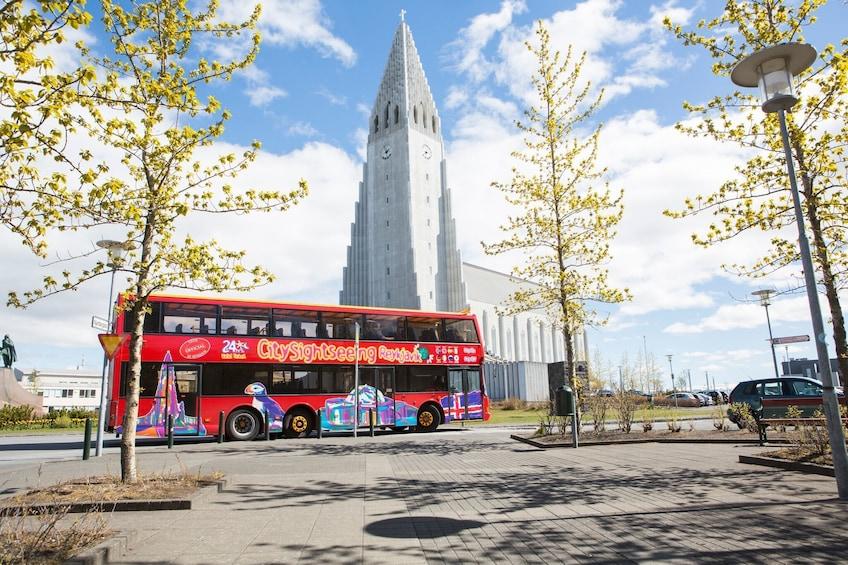 Reykjavik Hop-On Hop-Off Bus Tour