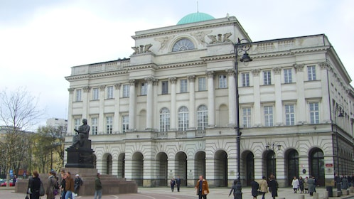 Staszic Palace in Warsaw