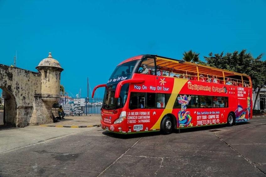 Cartagena Hop-On Hop-Off Bus Tour