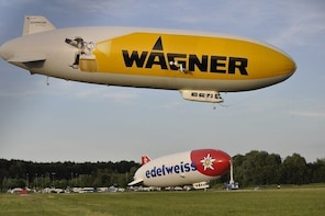 Bicycle tour to Friedrichshafen with a visit to the Zeppelin & Dornier Muse...