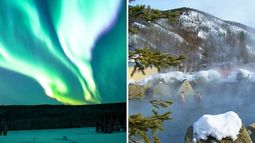 Northern Lights and Chena Hot Springs in Fairbanks