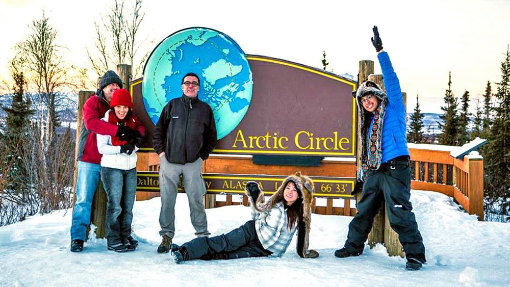 Full-Day Arctic Circle Excursion with Lunch