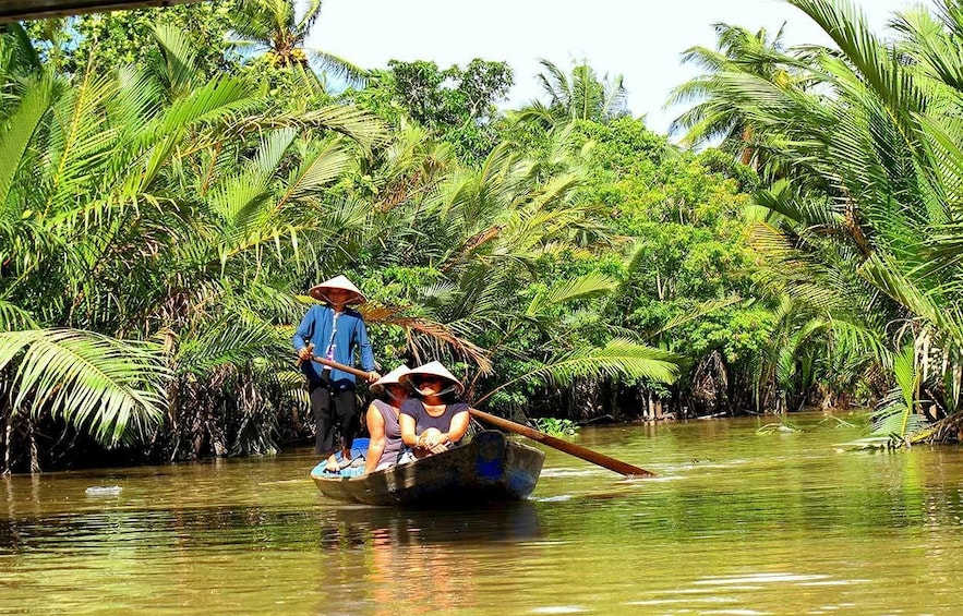 Show item 1 of 10. Luxury-Group Cu Chi Tunnels & Mekong Delta Tour