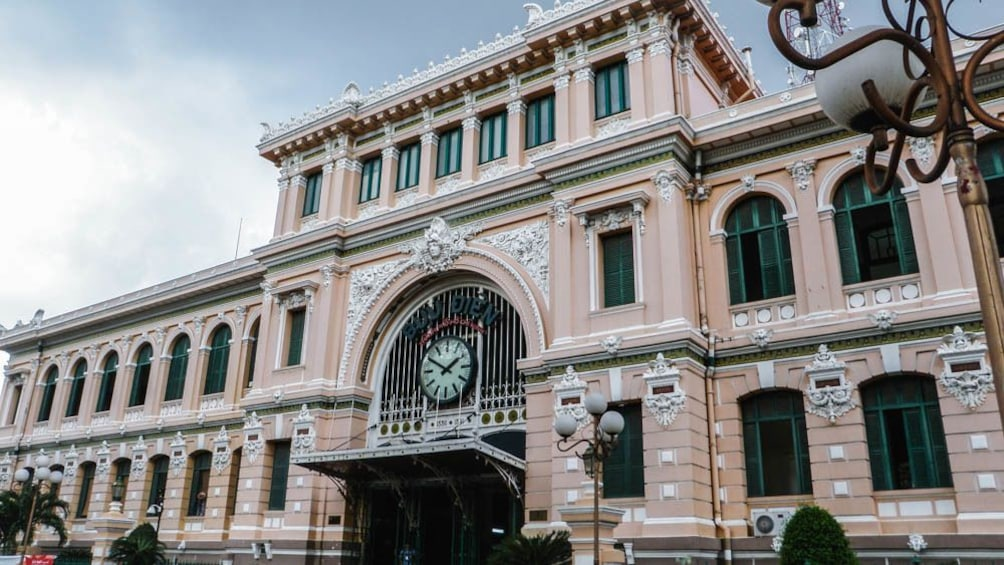 Show item 1 of 10. Wide angle view of building in Ho Chi Minh City.
