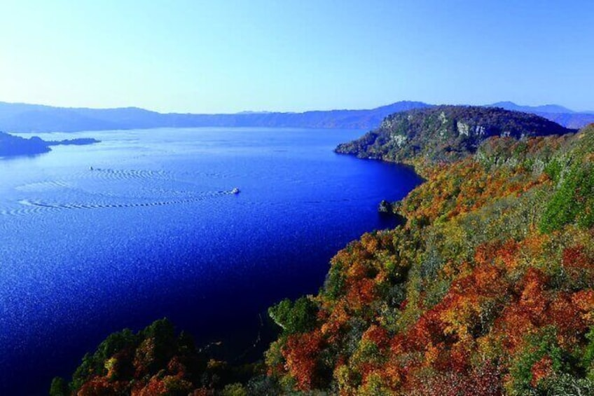 Show item 3 of 6. Oirase Gorge and Lake Towada Day Hike with Government-Licensed Guide