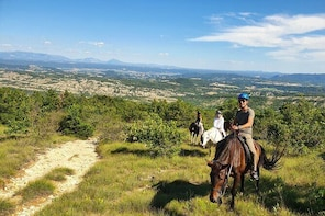 Horse ride in Haute Provence Luberon and Forcalquier