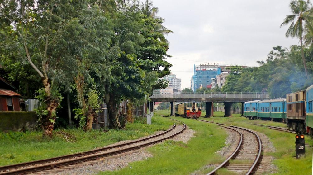 Yangon Circle Train tour in Myanmar