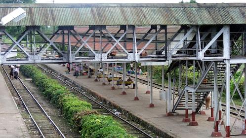 Yangon Circle Train in Myanmar