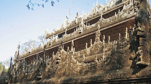 Side view of a building in Myanmar