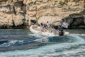 Tour of the Gulf of Cagliari in a rubber dinghy
