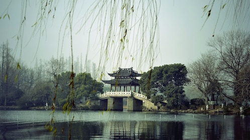 Temple on the West Lake in Hangzhou