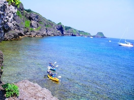 Enjoy A Day of Snorkeling at Okinawa Blue Cave with Kayaking