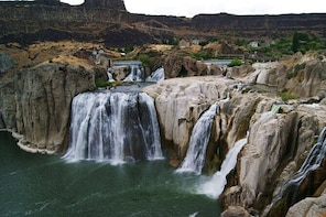 VIP Private Shoshone Falls, Craters of The Moon NM, and Potato Museum
