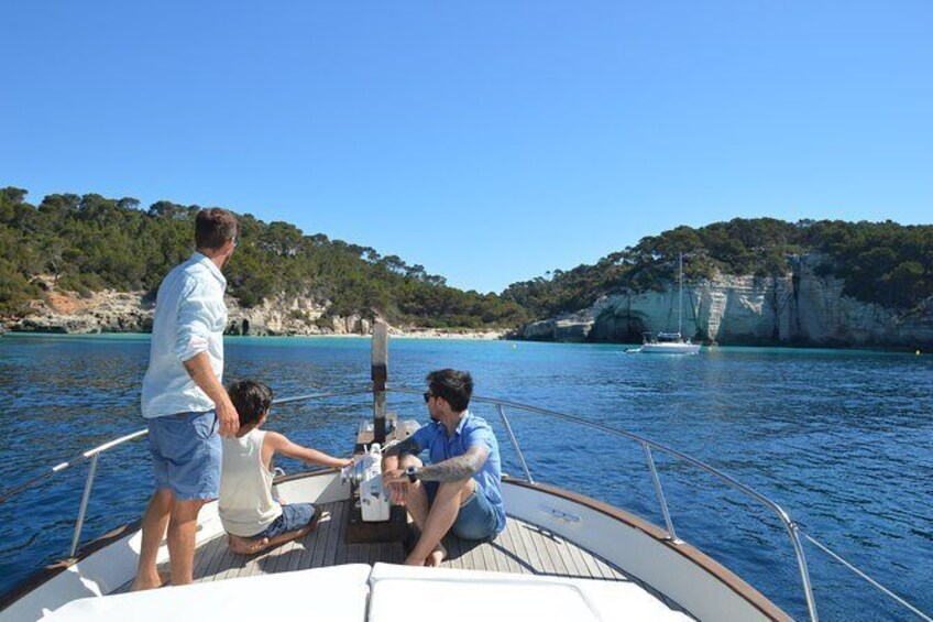 Show item 2 of 9. Menorca By Exclusive Boat Full Day (8h)