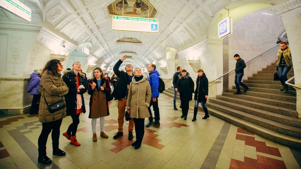 Show item 1 of 5. Moscow subway