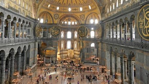 Hagia Sophia or Blue Temple in Istanbul