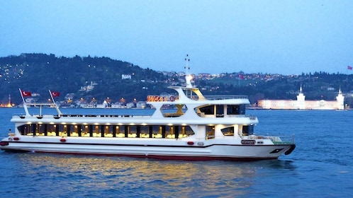 A yacht in Istanbul