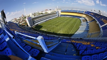 Tour dello stadio del Boca Juniors