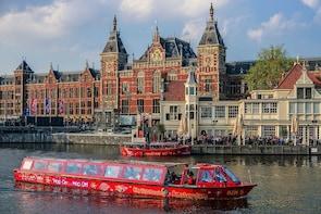 Amsterdam Hop-On Hop-Off Boat Tour