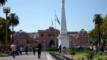 Passeio a pé pela cidade de Buenos Aires