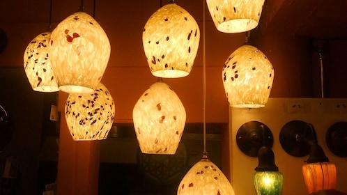 Glass light fixtures