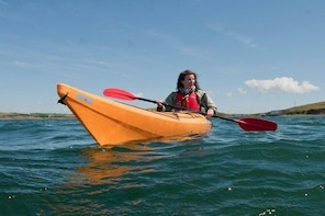 Sea kayaking along the Clare coastline. Clare. Guided. 21⁄2 hours.